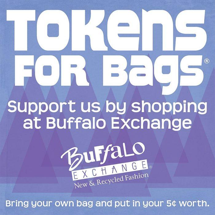 Exchange's Tokens for Bags Partner